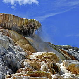 Yellowstone National Park, Mammoth Terraces by Lyuba Filatova