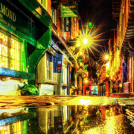 York City Shambles At Night by Paul Thompson