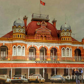York Hotel - Western Australia - Puzzles Prints and More by Miriam Danar