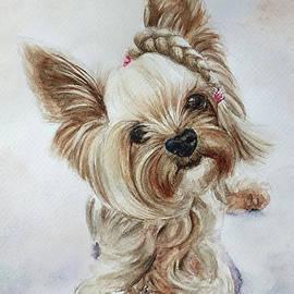 Yorkshire terrier by Agnieszka Kowalska Rustica Art