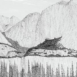 Yosemite Falls 1 10 2020 by Ed Moore