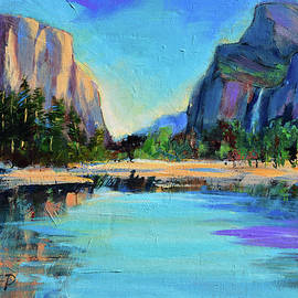 Yosemite Valley View by Elise Palmigiani