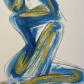 You in Blue and Gold by Deana Markus