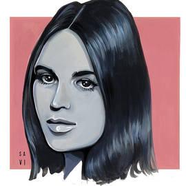Young Gloria Steinem - Radical Feminist by Savi Singh