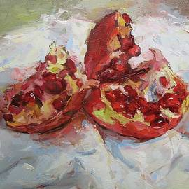 Young Pomegranate by David Beglaryan