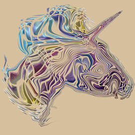 Young Unicorn by Mary Poliquin - Policain Creations