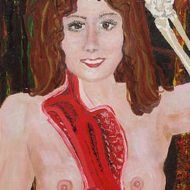 Young Widow by Lisa Kramer