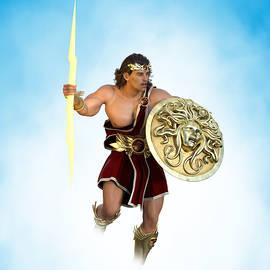 Young Zeus God of Greek Mythology 6 by Barroa Artworks