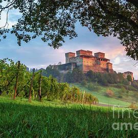 Torrechiara Castle, Emilia-Romagna, Italy by Kim Petersen