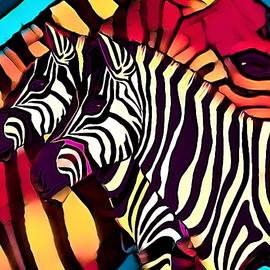 Z is for Zebras by Joan Stratton