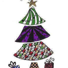 Zentangle Christmas Tree