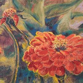 Zinnia by Joy Nichols