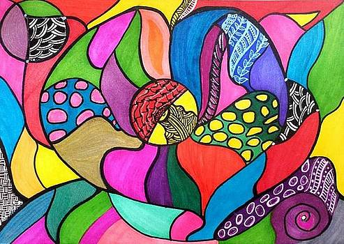 Colourful Heart by Shaloo Webster