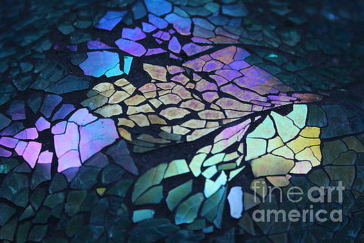Cut Glass Mosaic  by Kathy DesJardins