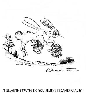 Easter Bunny Truth  by Kenneth Carpenter