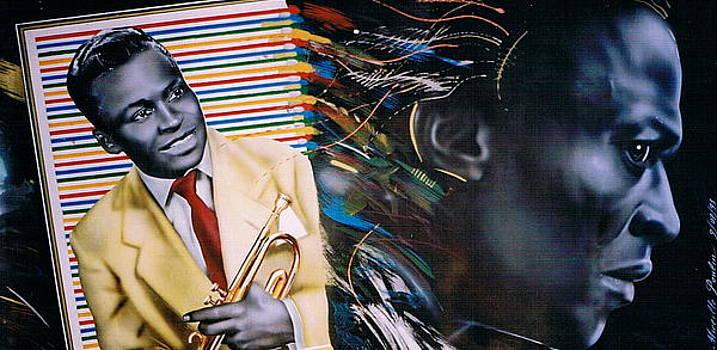 Miles Davis by Mireille  Poulin