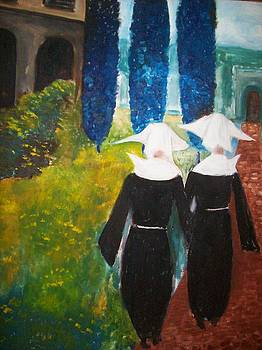 Nuns at convert by Michael C Doyle