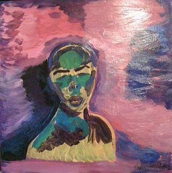 Beautiful Dinka Woman by Lucky Hall