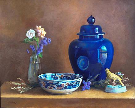 Blue Jar by John Marbury