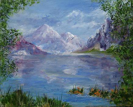 Bow Lake by Thomas Restifo