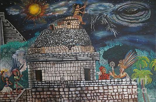 Caracol the solstice and the return of KuKulKan by Visual  Renegade Art