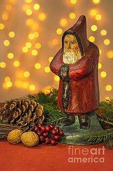Christmas decoration with Santa Claus Figurine by Palatia Photo