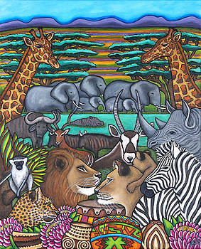 Colours of Africa by Lisa  Lorenz