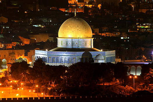 Dome of the Rock by Night by Philip Neelamegam