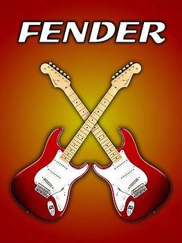 Fender Stratocaster american standart red   by Doron Mafdoos