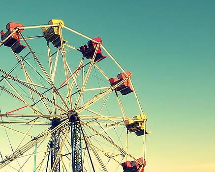 Ferris Wheel in the Sun by Brooke Finley