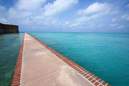 Fort Jefferson at Dry Tortugas National Park by Jetson Nguyen