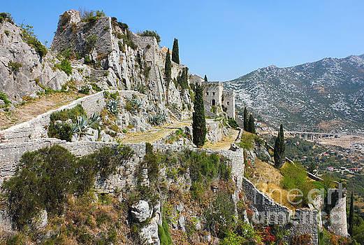 Fortress Klis near Split by Kiril Stanchev