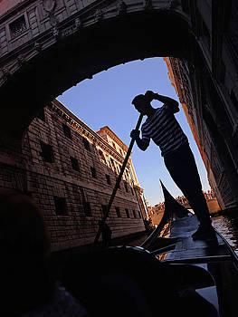 Gondola Ride In Venice by Nano Calvo