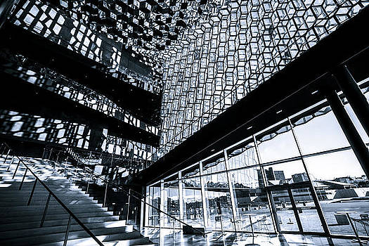 Harpa concert hall by Petur Mar Gunnarsson