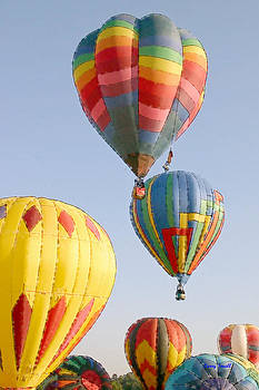 Hot Air Balloons VII by Larry Small