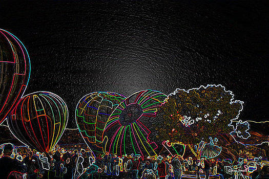 Hot Air Balloons VIII by Larry Small