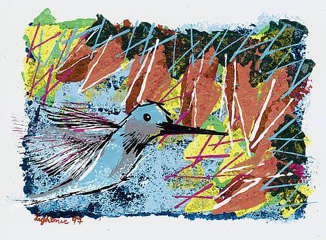 Humming Bird by Barbara Lightner