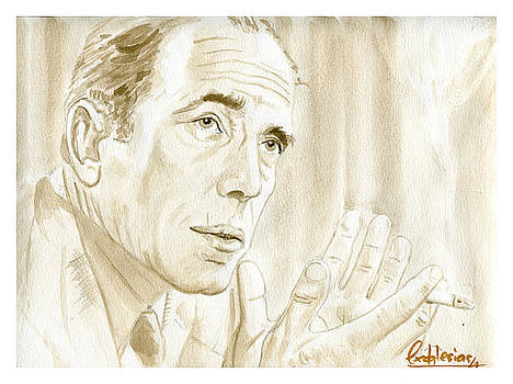 Humphrey Bogart by David Iglesias