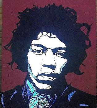 Jimi Hendrix by Tom Runkle