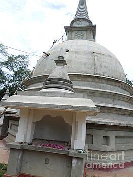 Maligawila Buddhist Temple by Sunanda Yapa