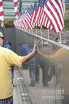 Military memorial by Cheryl Casey