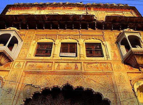 Old Building at Kankhal Haridwar by Salman Ravish
