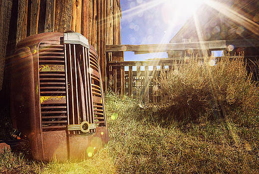 Old GMC Truck Grill In Abandoned Town Of Bodie California by Kriss Russell