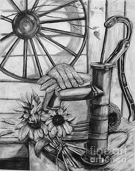 Old Water Pump by Laneea Tolley