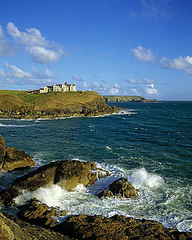 Poldhu Point Cornwall UK by David Davies