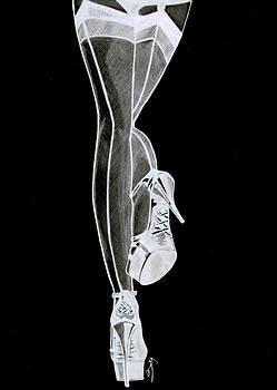 Sexy Legs by Saki Art