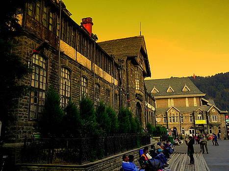 Shimla Town Hall by Salman Ravish
