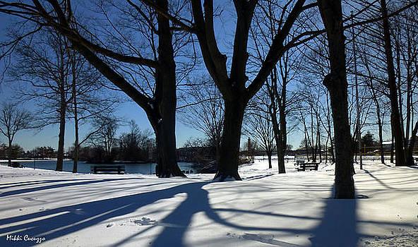 Snowy Landscape by Mikki Cucuzzo