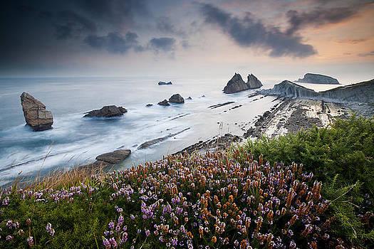 Sunrise on the Cliff by Marilar Irastorza