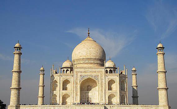 Taj Mahal Agra India by Bhupendra Singh